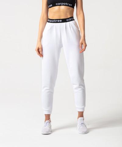 Białe joggery Lucky 1