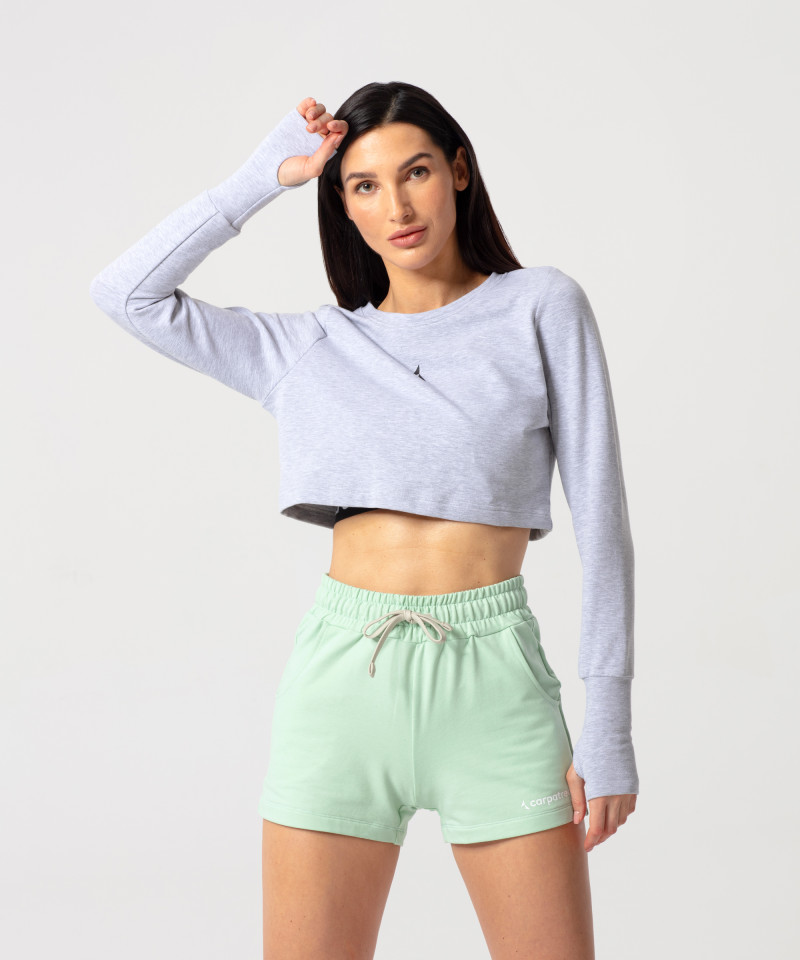 Light Melange Cheery Sweatshirt 1