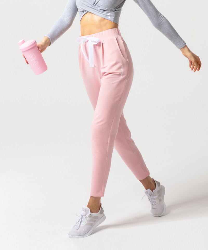 Coral Ultimate Tied Sweatpants 2