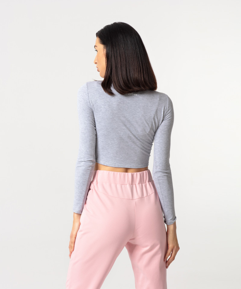 Coral Ultimate Tied Sweatpants 4
