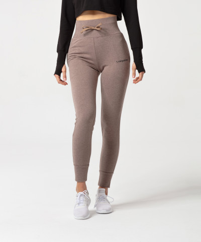 Brown Melange Belle Sweatpants 1