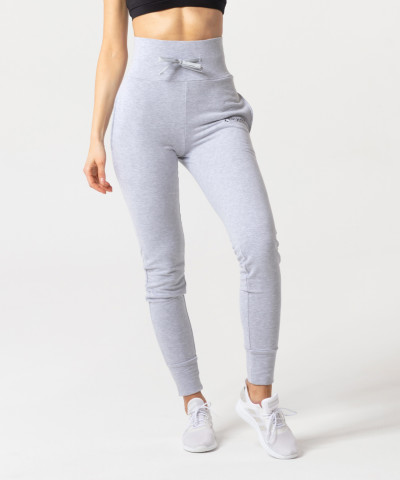 Grey Melange Belle Sweatpants 2