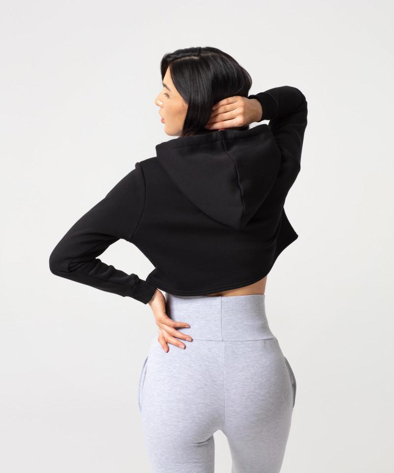 Czarna bluza Cropped 2