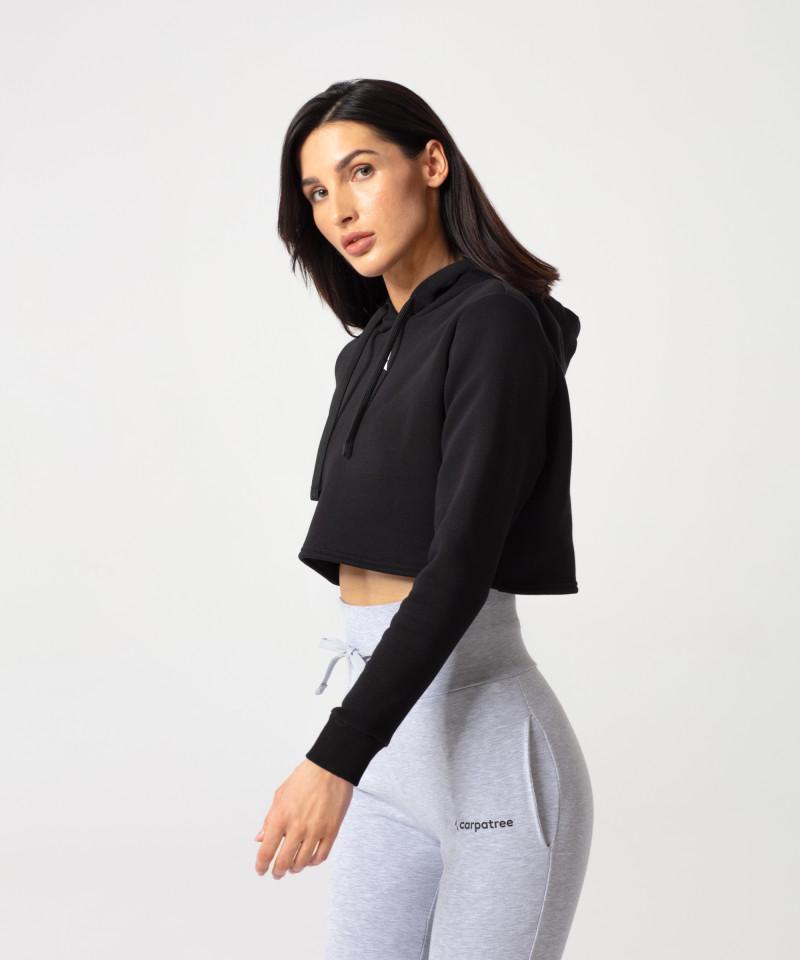 Czarna bluza Cropped 3