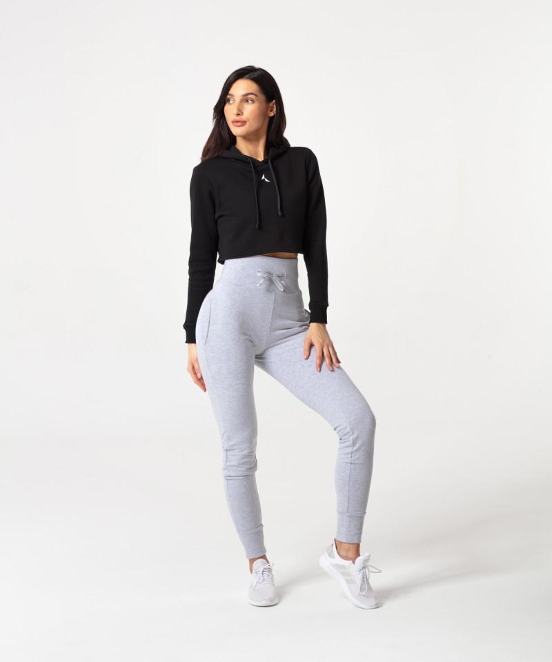 Czarna bluza Cropped 5
