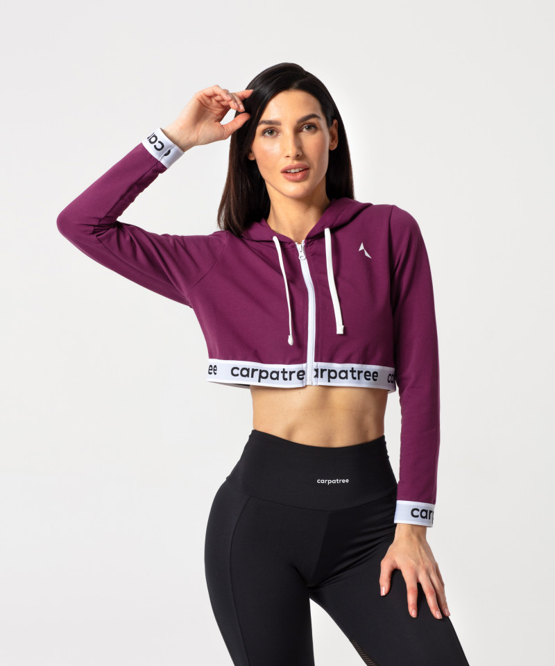 Blueberry Action Zipper Hoodie 1
