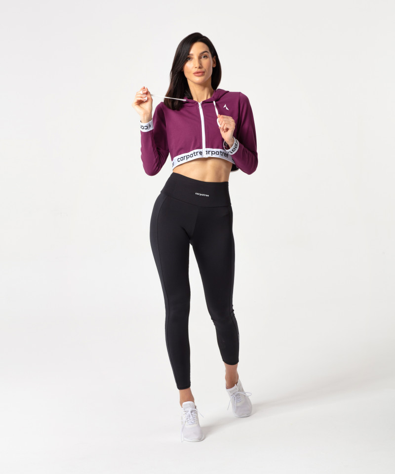 Blueberry Action Zipper Hoodie 5