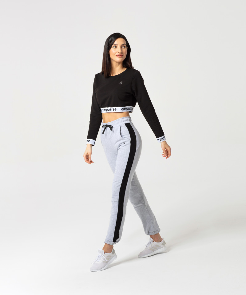 Grey to black Relaxed Sweatpants 3