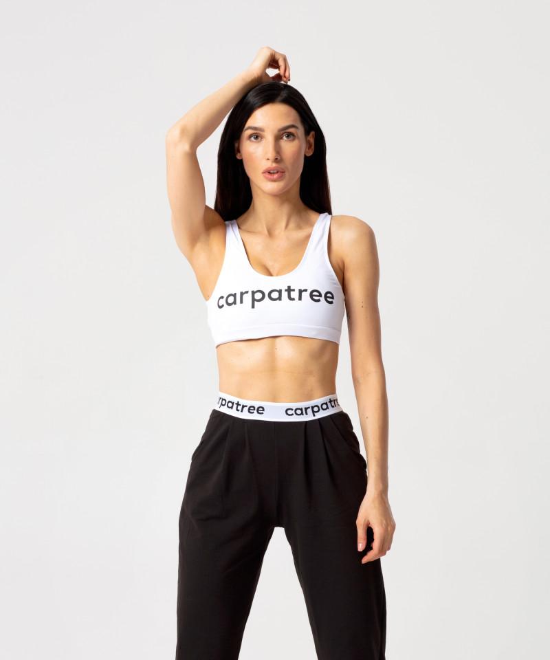 Белый спортивный топ Slim 1