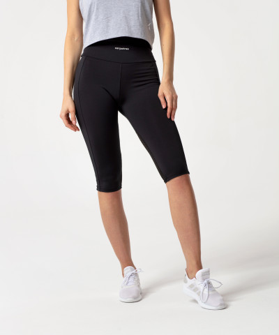 Schwarze Hyperion Performesh 3/4 Leggings 1