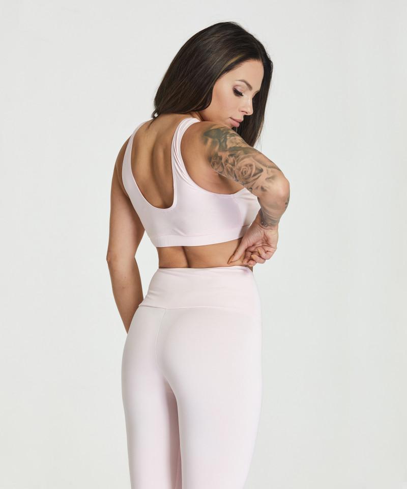 Pastel Pink Slim Bra 3