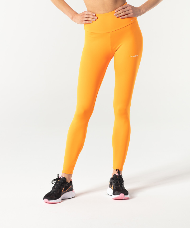 Orange Classic Highwaist Leggings 1