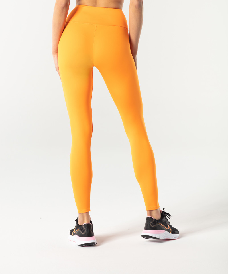 Orange Classic Highwaist Leggings 2