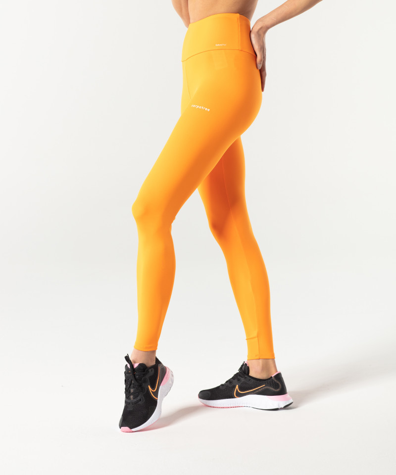Orange Classic Highwaist Leggings 3