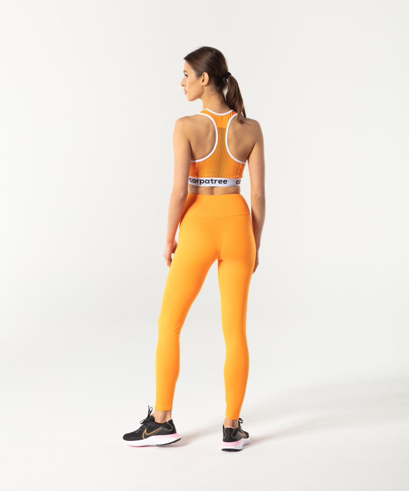 Orange Classic Highwaist Leggings 5