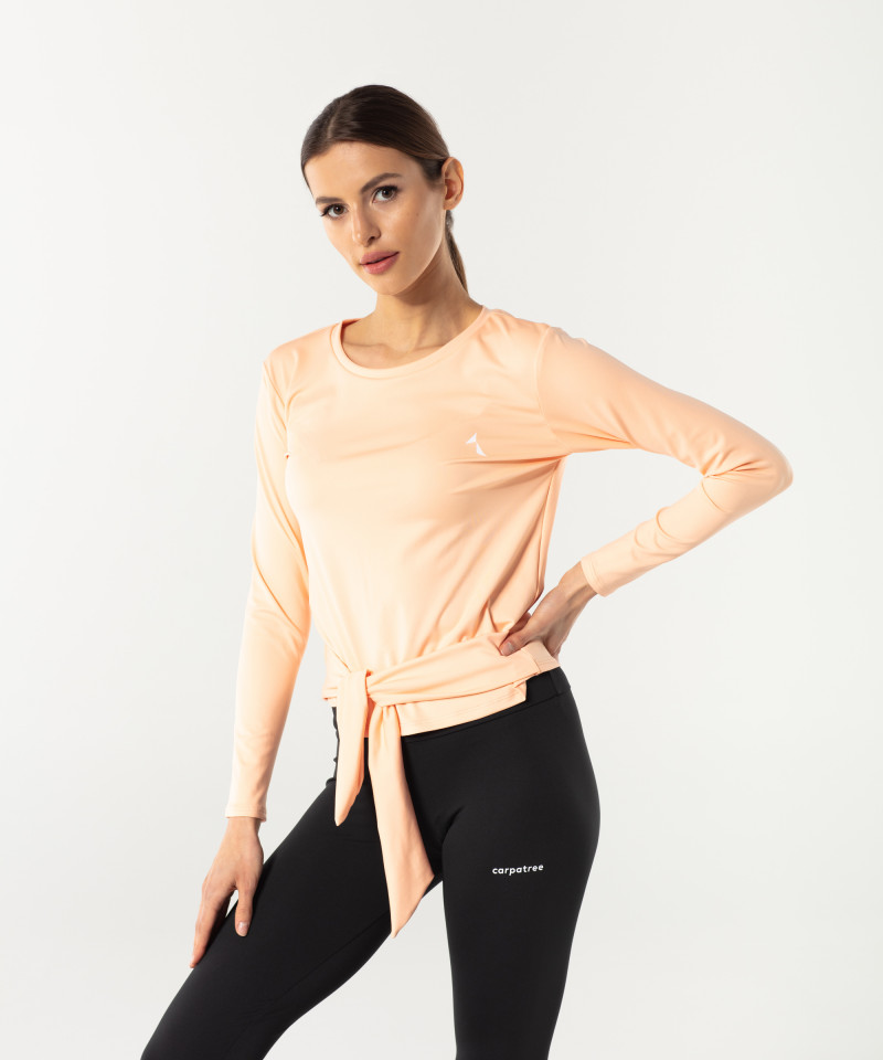Pfirsich Tied Up Longsleeve