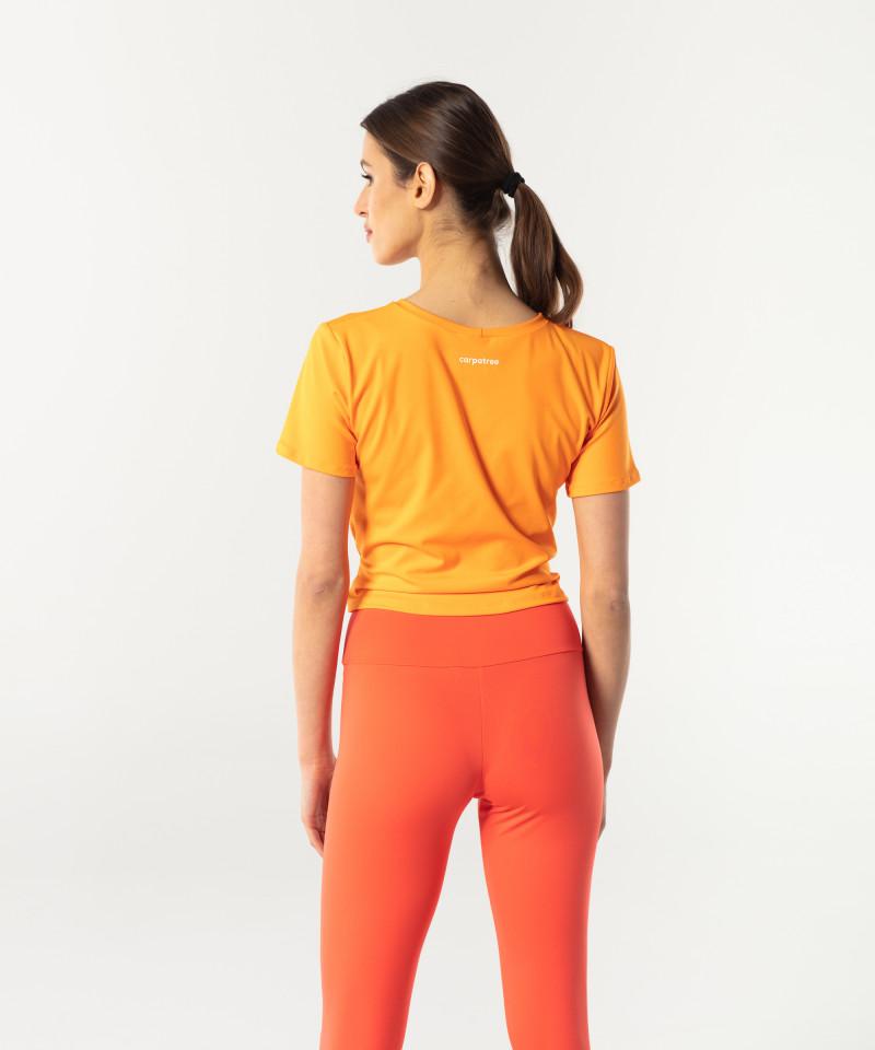Orange Shortsleeve Tied up 2