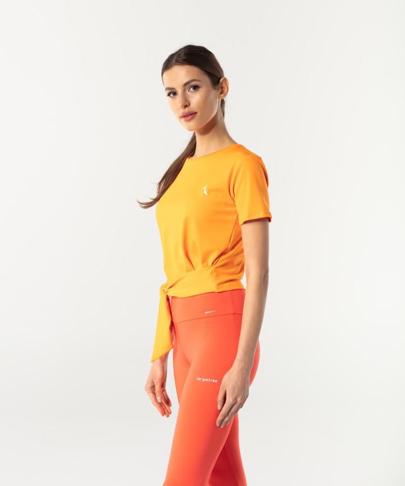 Pomarańczowy shortsleeve Tied up 3