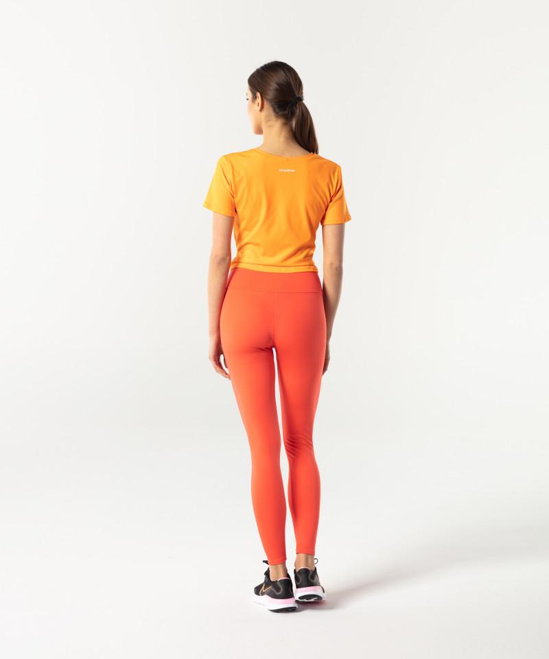 Pomarańczowy shortsleeve Tied up 5