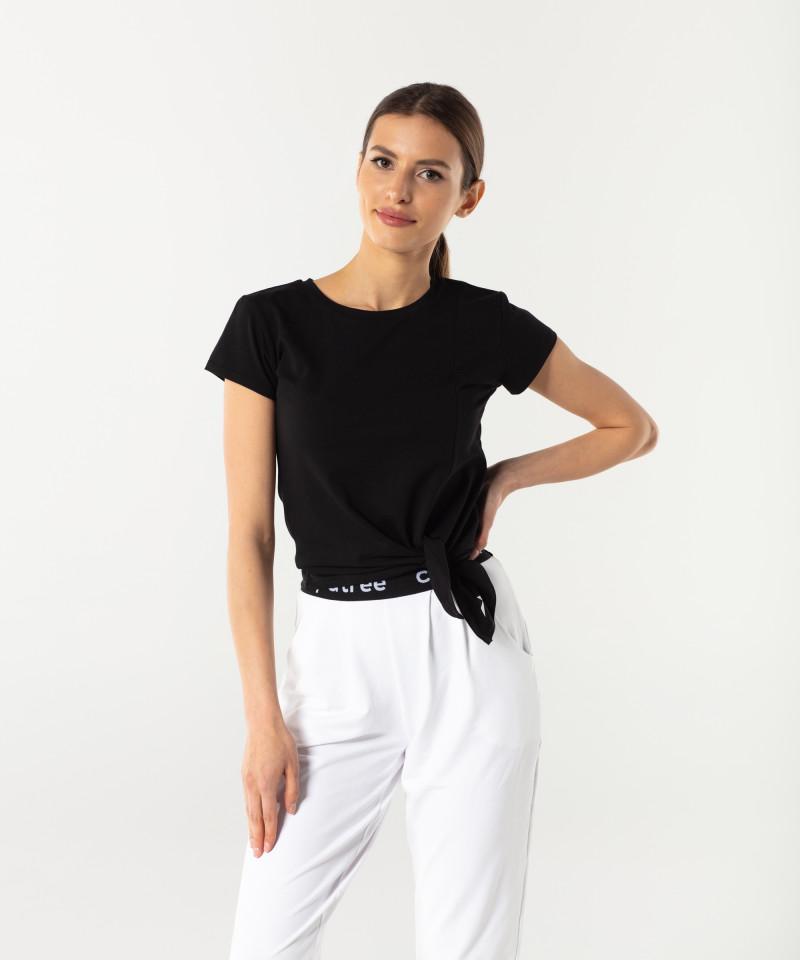 Schwarzes T-shirt Side 1