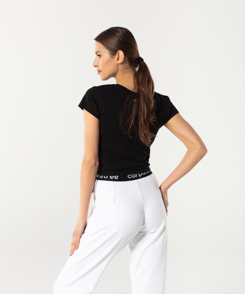 Schwarzes T-shirt Side 2