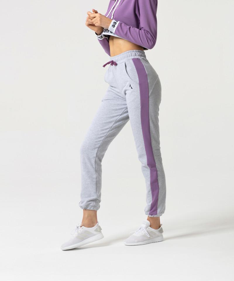 Fioletowa bluza Action Zipper 4
