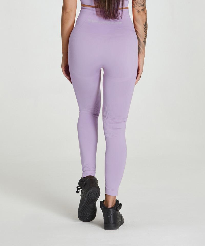Lilac Model One Seamless Leggings 2