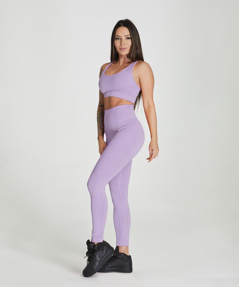 Lilac Model One Seamless Leggings 4