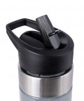 Black Straw Bottle 2