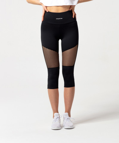 Black Astrid Capri Leggings 1