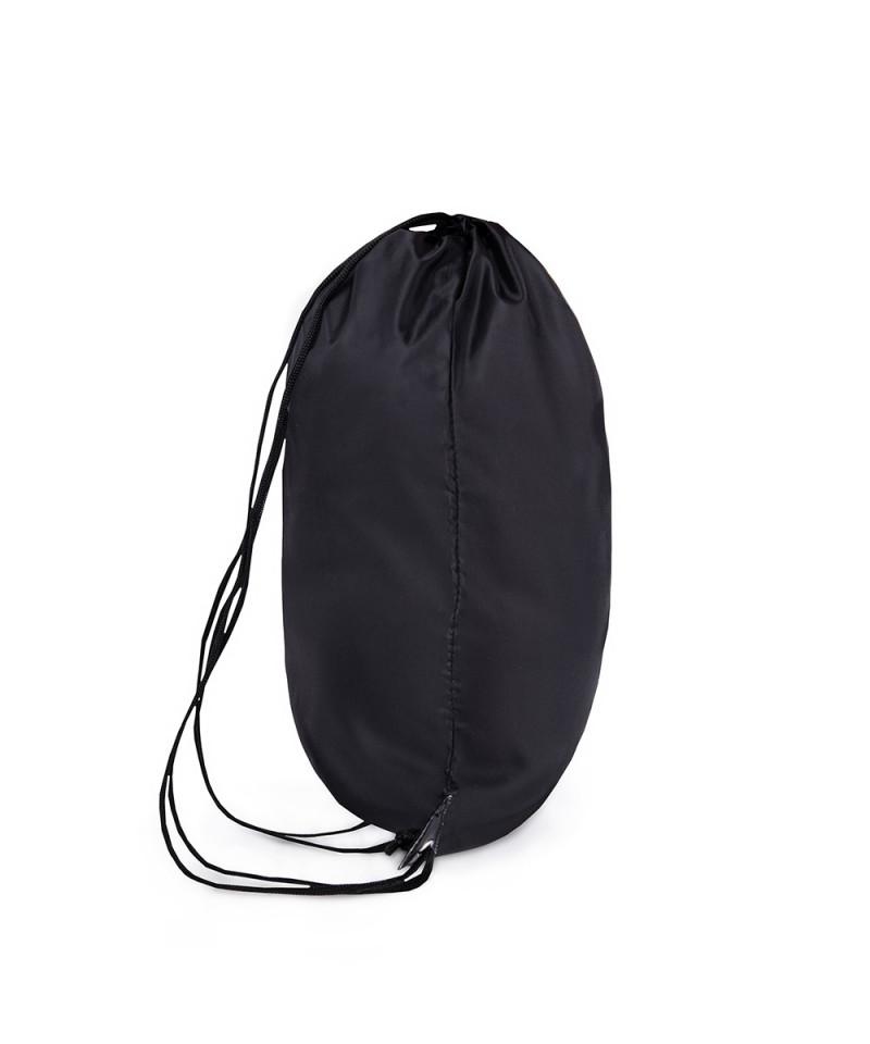 Czarny plecak ze sznurkami 2