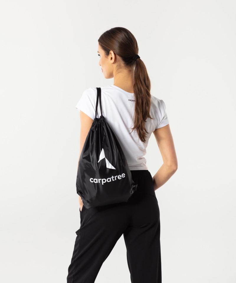 Czarny plecak ze sznurkami 3