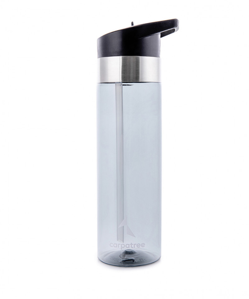 Black Straw Bottle 1