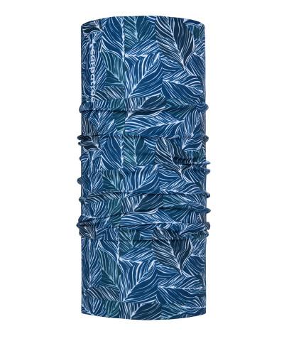 Blue Floral Komin Sportowy 1