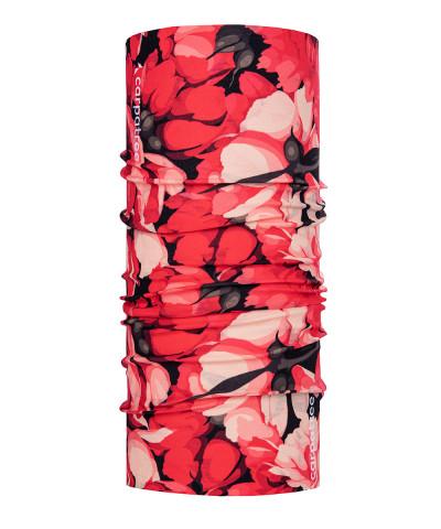 Red Floral Neck Warmer 1