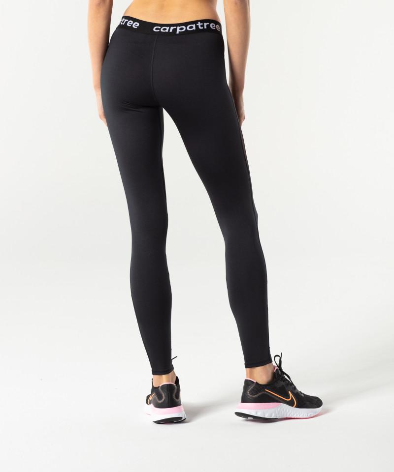 Black Double Mesh Leggings 3
