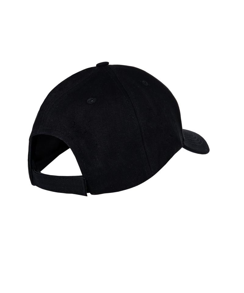 Black 6-Pannel Cap 5