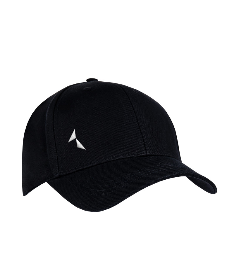 Black 6-Pannel Cap
