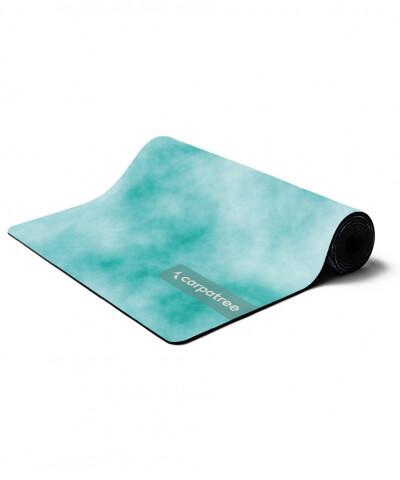 Blaue Yoga Matte Tie Dye 1
