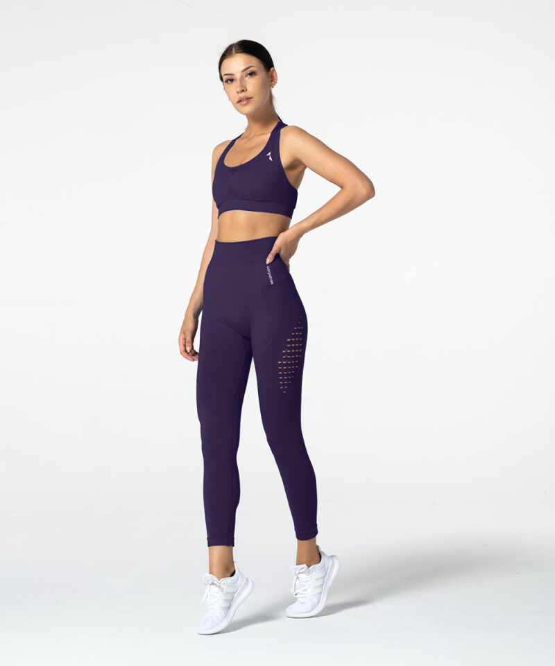 Purple Phase Seamless Leggings 3
