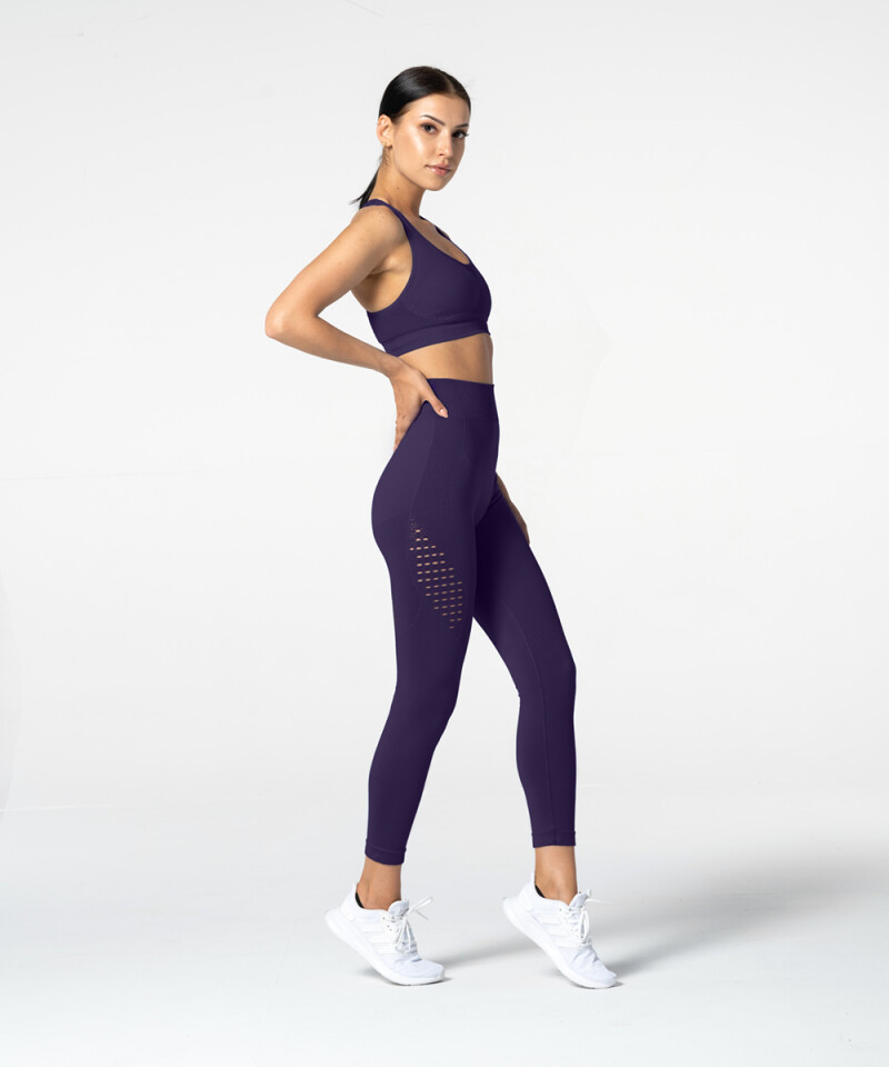 Purple Phase Seamless Leggings 4
