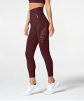Phase Seamless Leggings, Burgundy