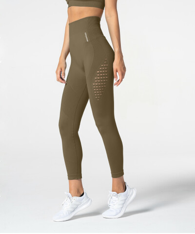 Khaki Phase Seamless Leggings 1