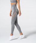Phase Seamless Leggings, Grey Melange