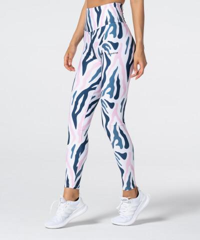 Zebra Legginsy z wysokim stanem 1