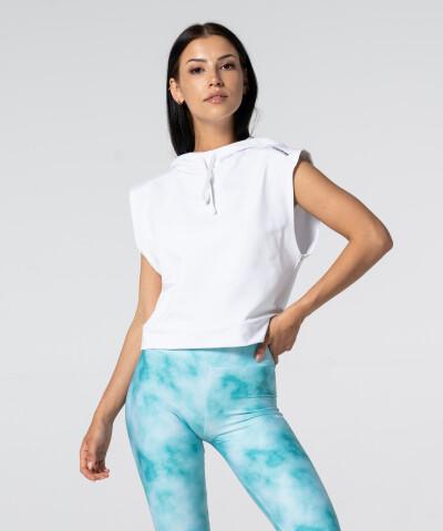 Damen Pullunder Classic in weiß 1