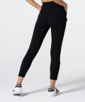 Женские черные спортивные штаны Rib 2