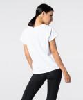 Women's White Symmetry T-shirt 2
