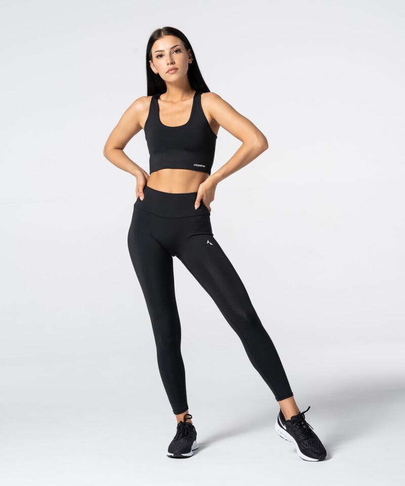 Women's Black Spark Highwaist Leggings 4
