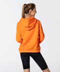 Women's Neon Orange Vibrant Hoodie 2